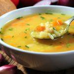 Prato da dieta da sopa.
